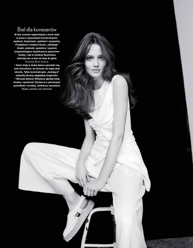 Alicja Tubilewicz & Carol Sapinski For Twoj Styl Magazine, April 2015