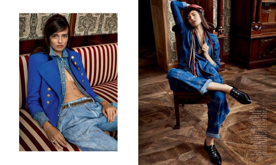 Alicja Tubilewicz For Harper's Bazaar Poland, May 2015