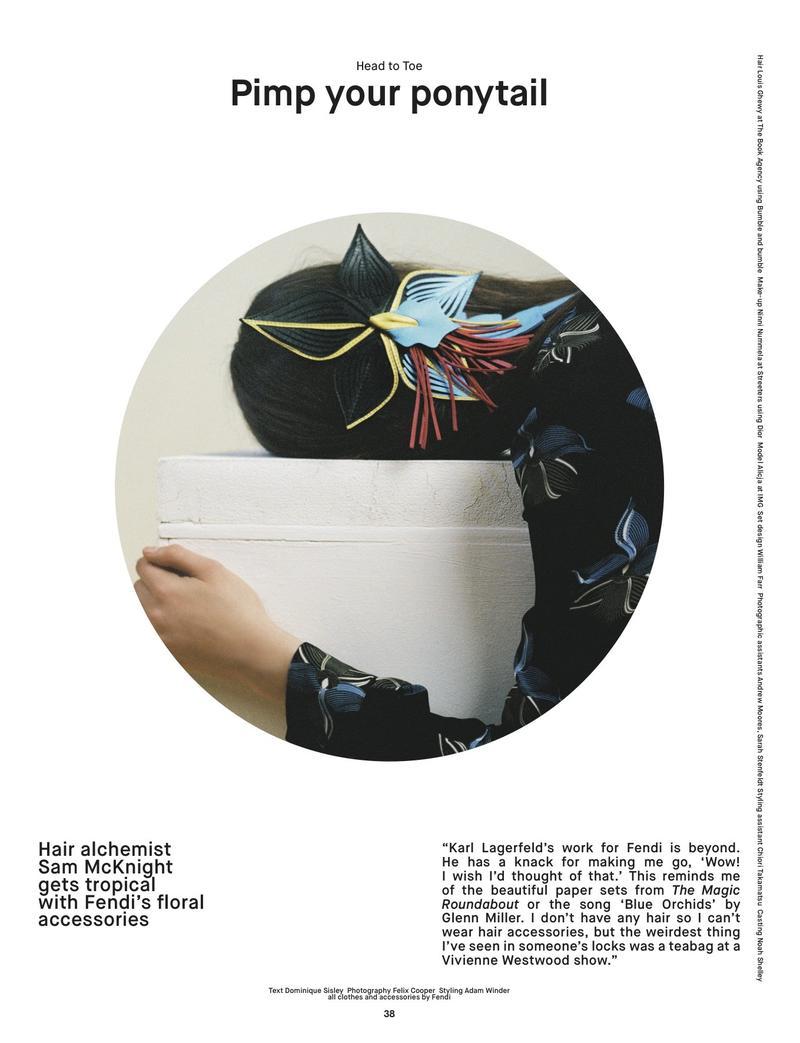 Alicja Tubilewicz For Dazed & Confused Magazine, S/S 2015