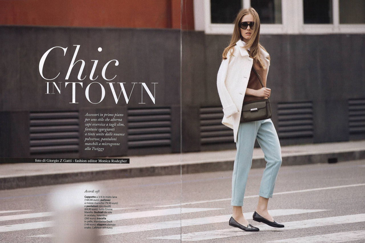 Chic In Town - Ania Kisiel For F Magazine, May 2015